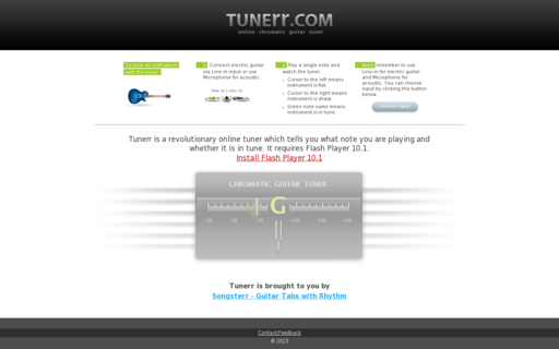 Access tunerr.com using Hola Unblocker web proxy