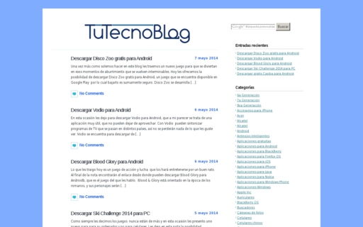 Access tutecnoblog.com using Hola Unblocker web proxy