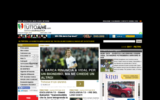Access tuttojuve.com using Hola Unblocker web proxy
