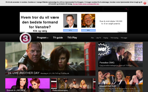Access tv3.dk using Hola Unblocker web proxy