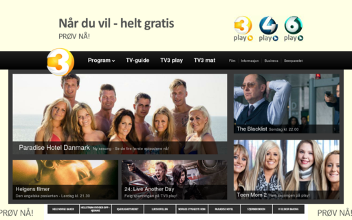 Access tv3.no using Hola Unblocker web proxy