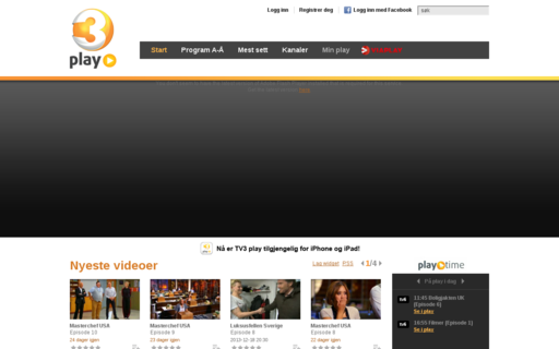 Access tv3play.no using Hola Unblocker web proxy