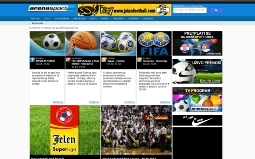 Access tvarenasport.com using Hola Unblocker web proxy