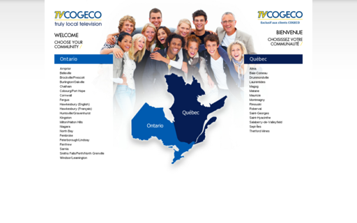 Access tvcogeco.com using Hola Unblocker web proxy