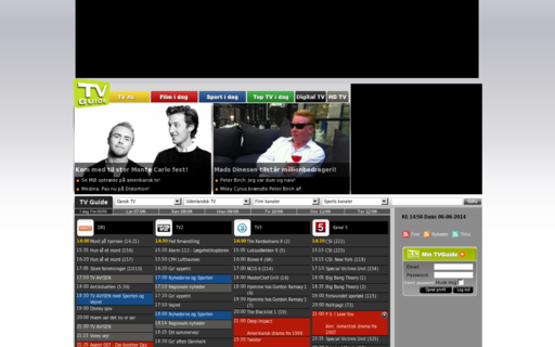 Access tvguide.dk using Hola Unblocker web proxy