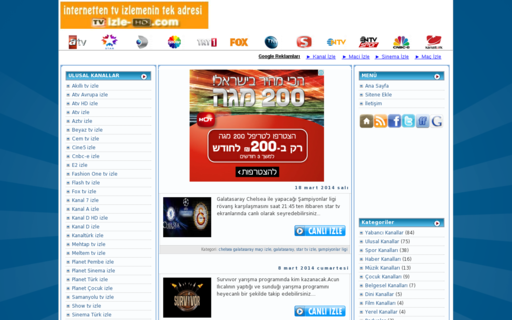Access tvizle-hd.com using Hola Unblocker web proxy