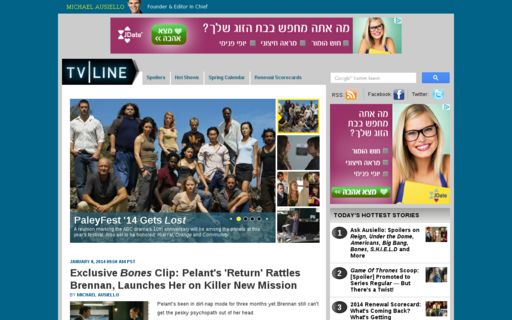 Access tvline.com using Hola Unblocker web proxy