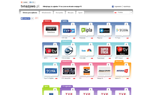 Access tvnazywo.pl using Hola Unblocker web proxy