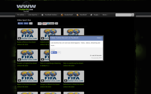 Access tvonline-live.com using Hola Unblocker web proxy