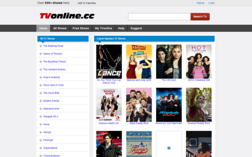 Access tvonline.cc using Hola Unblocker web proxy