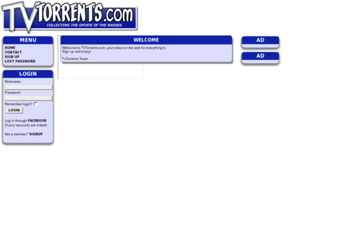 Access tvtorrents.com using Hola Unblocker web proxy