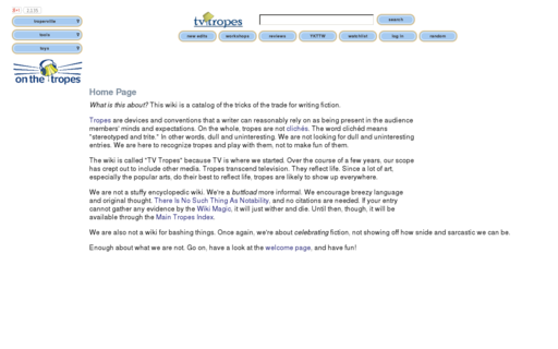 Access tvtropes.org using Hola Unblocker web proxy