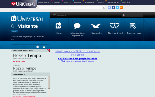 Access tvuniversal.org using Hola Unblocker web proxy