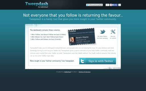 Access tweepdash.com using Hola Unblocker web proxy