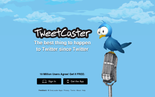 Access tweetcaster.com using Hola Unblocker web proxy