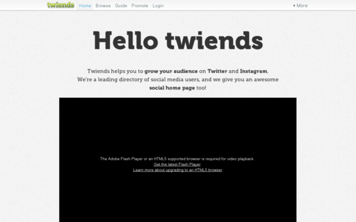 Access twiends.com using Hola Unblocker web proxy