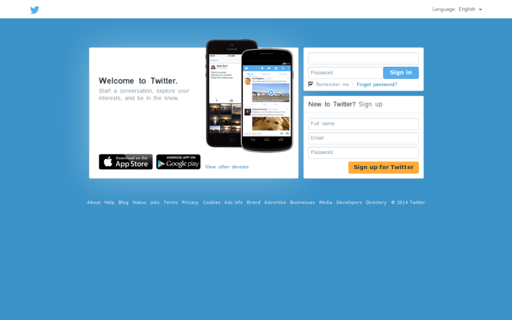 Access twitter.fr using Hola Unblocker web proxy