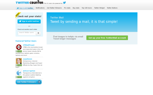 Access twittermail.com using Hola Unblocker web proxy
