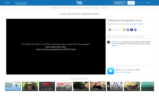 Access twitvid.com using Hola Unblocker web proxy