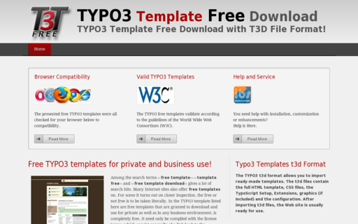 Access typo3-template-free-download.com using Hola Unblocker web proxy