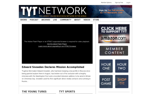 Access tytnetwork.com using Hola Unblocker web proxy