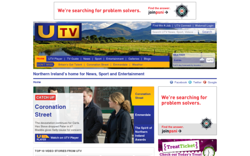 Access u.tv using Hola Unblocker web proxy