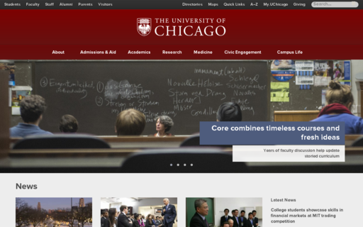 Access uchicago.edu using Hola Unblocker web proxy