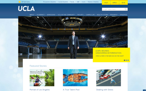 Access ucla.edu using Hola Unblocker web proxy