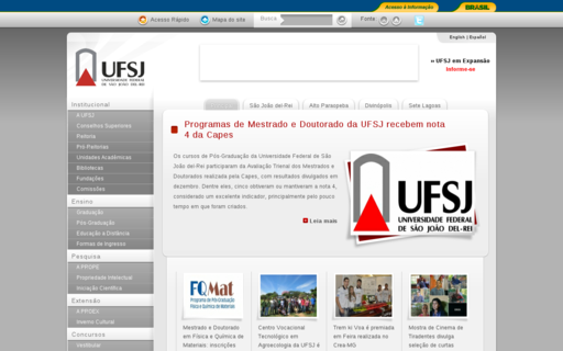 Access ufsj.edu.br using Hola Unblocker web proxy