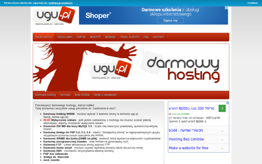 Access ugu.pl using Hola Unblocker web proxy