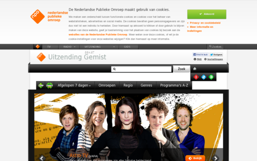 Access uitzendinggemist.nl using Hola Unblocker web proxy