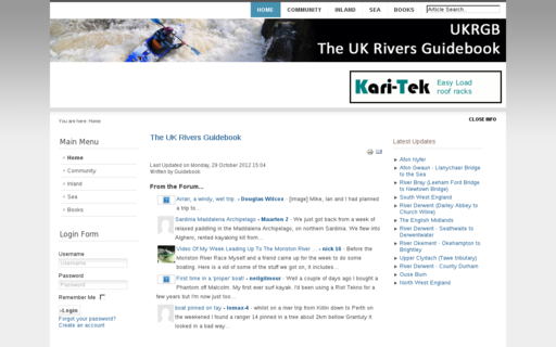 Access ukriversguidebook.co.uk using Hola Unblocker web proxy