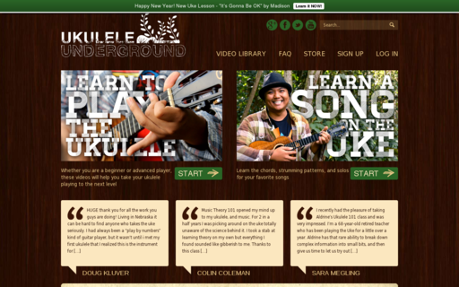Access ukuleleunderground.com using Hola Unblocker web proxy