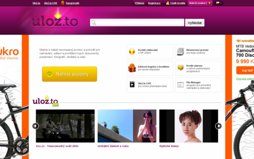 Access ulozto.cz using Hola Unblocker web proxy