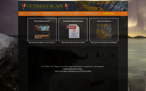 Access ultimatescape2.com using Hola Unblocker web proxy