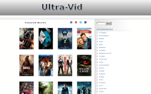 Access ultra-vid.com using Hola Unblocker web proxy