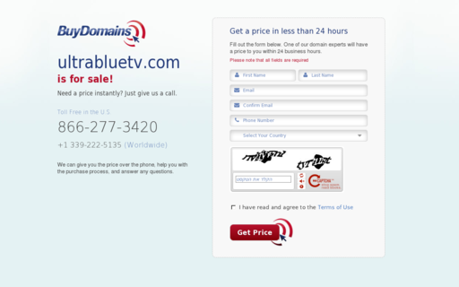 Access ultrabluetv.com using Hola Unblocker web proxy