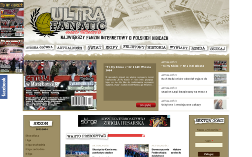 Access ultrafanatic.pl using Hola Unblocker web proxy