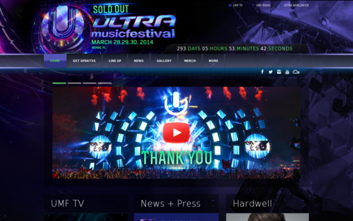 Access ultramusicfestival.com using Hola Unblocker web proxy