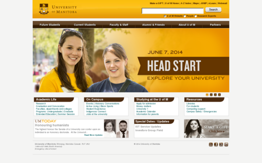 Access umanitoba.ca using Hola Unblocker web proxy