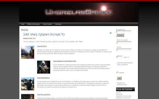 Access umbrelasgames.com using Hola Unblocker web proxy