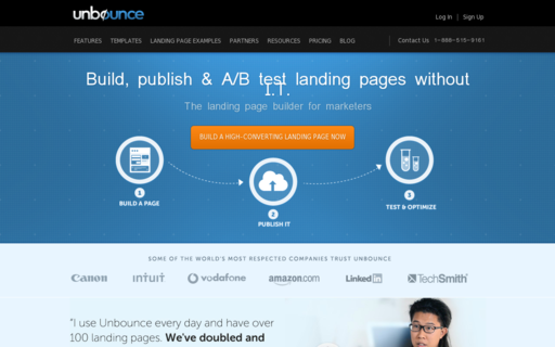 Access unbounce.com using Hola Unblocker web proxy