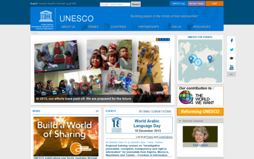Access unesco.org using Hola Unblocker web proxy