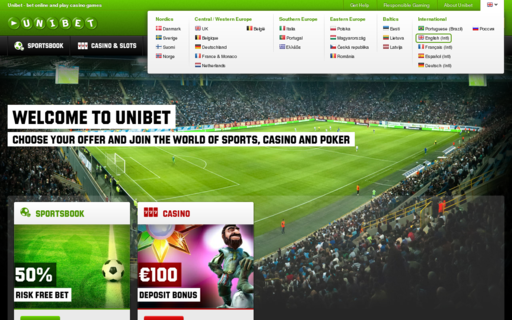 Access unibet.com using Hola Unblocker web proxy