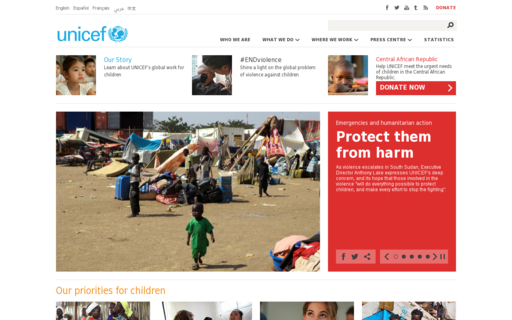 Access unicef.org using Hola Unblocker web proxy
