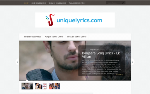 Access uniquelyrics.com using Hola Unblocker web proxy