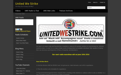Access unitedwestrike.com using Hola Unblocker web proxy