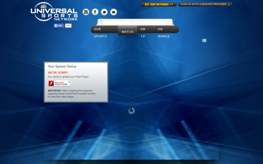 Access universalsports.com using Hola Unblocker web proxy