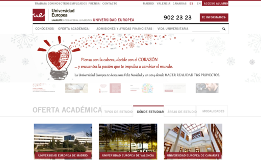 Access universidadeuropea.es using Hola Unblocker web proxy