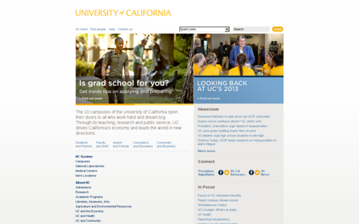 Access universityofcalifornia.edu using Hola Unblocker web proxy